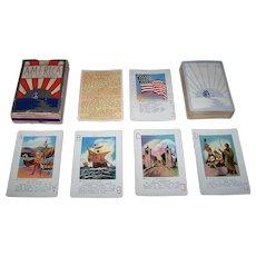 """N.V. Christensen """"America: The New Game"""" Card Game, c.1933"""
