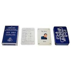 """Le Triboulet et Malherbe """"Jeu des Copains"""" Playing Cards, c.1965"""