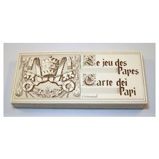 """3-Deck Set Grimaud """"Le Jeu des Papes"""" Playing Cards, Holy Year (Jubilee), 1983"""