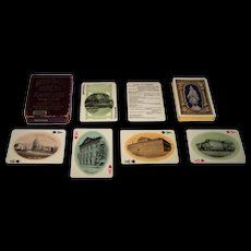 """USPC (Waters Co.) """"The Nation's Capital Souvenir"""" Playing Cards, c.1909"""