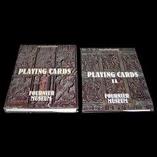 "Felix Alfaro Fournier, 2-Volume Work (English), Books: ""Playing Cards,"" c.1982 and ""Playing Cards II,"" c.1988"