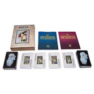 "Double Deck Pronaco S.A. de C.V. ""Naipe Tipo Maya"" Playing Cards, c.1991"