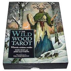 "Sterling Ethos ""Wildwood Tarot"" Tarot Cards w/ Book, Mark Ryan and John Matthews Conception, Will Worthington Designs"