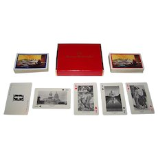 """Double Deck Brown & Bigelow """"American President Lines"""" Maritime Souvenir Playing Cards, c.1953"""