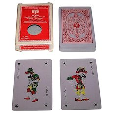 "Uğur Plastik Kart Sanayi A.S. (Istanbul) ""Ugur 100% Plastic"" Playing Cards, Belgian Standard Pattern, c.1981"