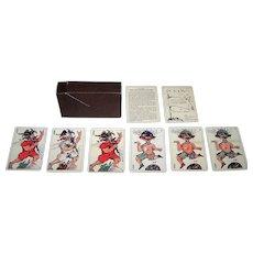 "Edition del Solleoni (Arienti) ""Les Non Senses"" Playing Cards, ""Pataphysics"" Inspired Designs, c.1988"