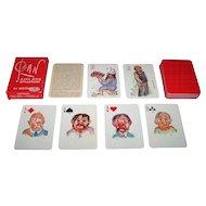 "Handa ""Pan"" Playing Cards, Axel Orn Designs, c.1965"