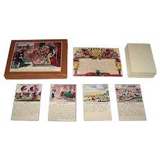 """Edizioni del Solleone """"Le Jeu de la Guerre"""" Playing Cards, [Original Edition: 17th Century, Gilles de la Boissiere Designs, Pierre de la Pautre Maker], Limited Edition (31/1200), c. 1981"""