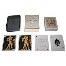 """La Milano """"Raffaello Sanzio"""" Playing Cards, I Maestri Dell'Arte Italiana Series (No.2), c.1982"""