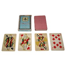 "Ets. Mesmaeker Freres ""Davros Goût Egyptien"" Playing Cards, c.1935"