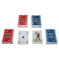 """Twin Decks Carta Mundi """"Sabena Airlines"""" Advertising Playing Cards"""