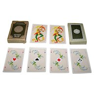 "Handa ""Luxus Salon No.99"" Playing Cards, c.1960"