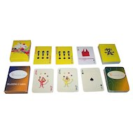 "2 Decks Non-Standard Advertising Playing Cards, $15/ea.: (i) ""Crumpler"" (Maker Unknown); and (ii) ""Preface, Inc."" (Maker Unkown"