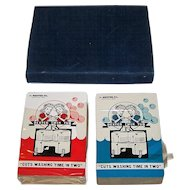 "Double Deck Brown & Bigelow ""Dexter Twin Tub"" Advertising Playing Cards, c.1949"