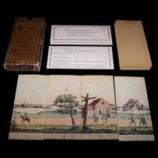 "IBM Nederland N.V. Amsterdam ""Alphabetisch Myriorama"" Card Set, Reprint of 1825 Card Set, c. 1970"