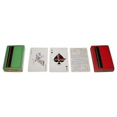 Double Deck Brown & Bigelow Playing Cards, Thompson Cigar, c.1930s