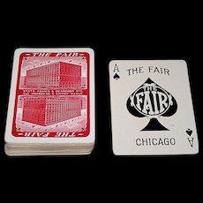 "USPC ""The Fair"" Playing Cards (52/52, NJ), ""The Fair Store"" Chicago, c.1930"