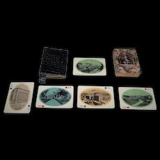 """USPC """"New Orleans and Gulf Souvenir"""" Playing Cards, c.1900"""