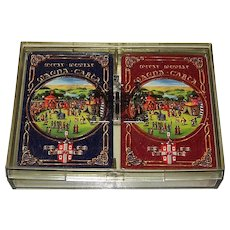 """Double Deck Worshipful Company Playing Cards, """"Magna Carta 1965"""""""