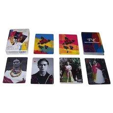 "Novelty Corp. de Mexico ""FK: Viva Como Piensas"" Playing Cards, Frida Kahlo"