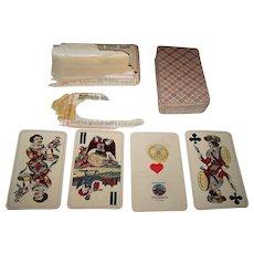"""Prva Jugoslovanska Tovarna Igralnih Kart """"Industrie und Glück"""" Tarock Cards, c.1941"""