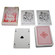 "S. Salomon & Co. (VASS?) ""Holmblads Billeder Eneret No.128"" Playing Cards, C.L. Wuest Designs, c. 1950s"