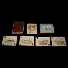 "World's Fair Souvenir Card Co. ""Columbian Exposition"" Playing Cards, c.1892"