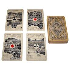 """Speelkaarten Fabriek Nederland """"Export"""" Playing Cards, c.1915"""