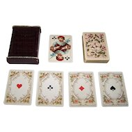 "Dondorf Playing Cards, ""Rokoko"" No. 158, Hamilton, HIlls & Co., c.1895"