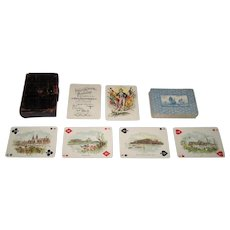 """Winters Art Litho. Co. """"Columbian Exposition"""" Playing Cards, c.1893"""