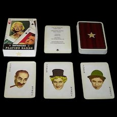 """Offason AB """"Moviestars"""" Playing Cards, Joakim Thedin Concept and Designs, c.1990s"""