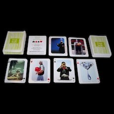 """Scott & Daughters Publishing Co. dba Workbookstock """"Find: Luck"""" Playing Cards, Maker Unknown, c.2002"""