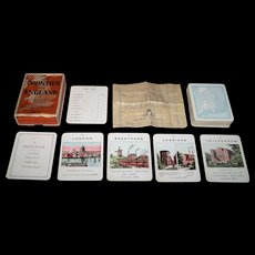 "John Jaques & Son ""Counties of England"" Card Game, c.1930"