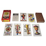 "A.G. Muller (U.S. Games Systems) ""1JJ"" Tarot Cards, c.1970"