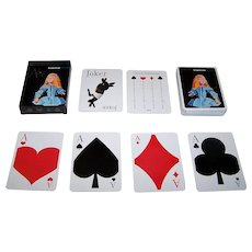 """Expresso (Portugal) """"Alice"""" Playing Cards"""