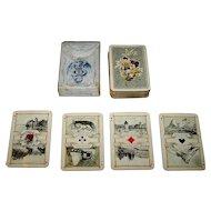"Dondorf ""Schweitzer Trachten"" (""Swiss Costumes"") Patience Playing Cards, Dondorf No. 189, c. 1906"
