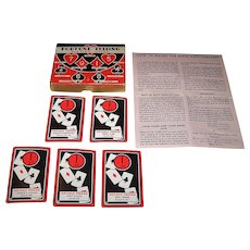 """Whitman """"Fortune Telling Playing Cards,"""" c.1936"""