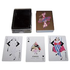 """Angel """"Roaring 20's"""" Playing Cards, c.1980"""
