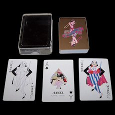"Angel ""Roaring 20's"" Playing Cards, c.1980"