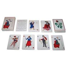 "Grimaud ""Jeu de la Revolution"" Playing Cards, Silvia Maddonni Designs, c.1988"
