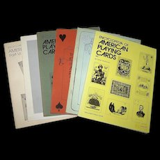 """Hochman, Gene, """"The Encyclopedia of American Playing Cards"""" (Complete, 6 Vols.), c.1976-1982"""