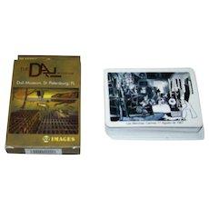 "2 Decks Playing Cards Modern Art Theme: (i) Dali Museum, St. Petersburg, Fla., $15; and (ii) Naipes Comas ""Las Meninas"", Picasso Design, $10"