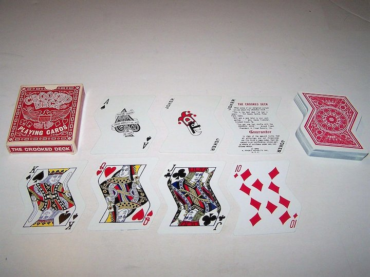 "3 Novelty Decks of Playing Cards, $15/ea : (i) Honeywell ""The Year Round"""