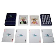 Garuda Indonesia Airline Playing Cards, Maker Unknown, c.1980s