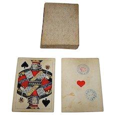 """Titze & Schinkay """"Wiener Bild"""" (""""Vienna Pattern"""") aka """"Large Crown"""" Playing Cards, c.1877-1881"""