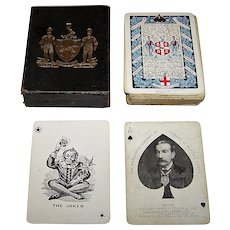 """Worshipful Company (Goodall) Playing Cards, """"Arms of the Company,"""" Ltd. Ed. ___/750, c.1918"""