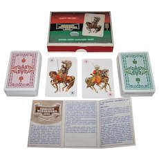 "Double Deck KZWP ""Odsiecz Wiedenska 1683"" (""Battle of Vienna 1683"") Playing Cards, c.1983"