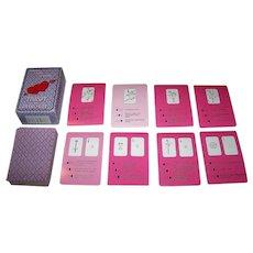 """Abino """"Tarot o Milosci"""" (""""Tarot of Love"""") Poland Tarot Set (76 Cards)"""