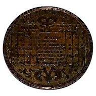 """German """"Boston Whist"""" Brass Scoring Token, c.1860"""