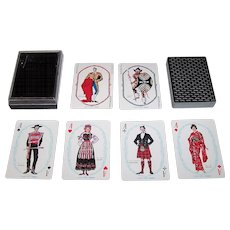 """Nintendo """"Onward"""" Playing Cards, Kashiyama Co. Designs, c.1968"""